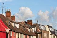 Stock Photo of suffolk rooftops