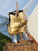roman armor - stock photo