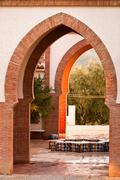 Moorish arches Stock Photos