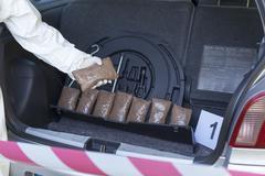 Drug trafficking Stock Photos