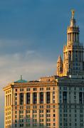 Stock Photo of Manhattan Municipal Building