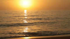 golden sunrise - stock footage