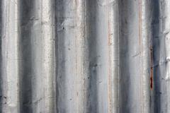 Old zinc plate Stock Photos