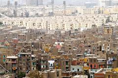 neighbourhood cairo - stock photo
