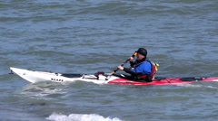 Canoeing in Wexford - stock footage