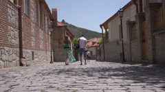 Beautiful city of Mtskheta - Georgia Stock Footage