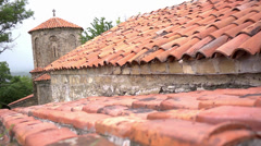 Red tile roof - Georgia Stock Footage