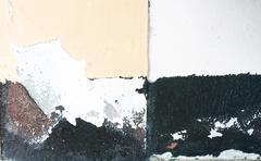 paint peeling walls - stock photo