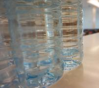 Purified water bottle Stock Photos