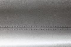 leather stitch - stock photo
