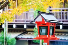 the fall season, Japan - stock photo