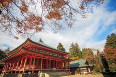 Kojyoin Tsukimido in Achi village, Nagano, Japan - stock photo