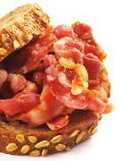 Bacon sandwich Stock Photos