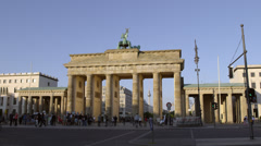 Berlin Brandenburg Gate, 4K Stock Footage