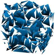 Shattered glass Stock Illustration