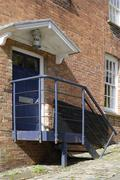 House doorway. Arundel. Sussex. England - stock photo