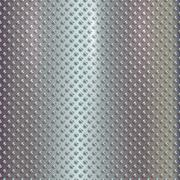 Vector silver grille on steel background Stock Illustration