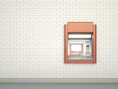 Cashpoint - stock illustration