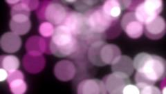 Sparkling light fountain sparks slow motion defocused abstract background Stock Footage