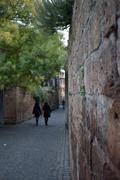 Alley in Orvieto Stock Photos