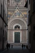 Orvieto Cathedral - stock photo