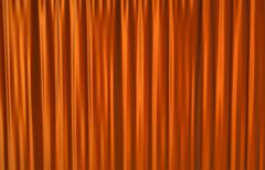 Red Curtain - stock illustration