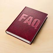 faq book. frequently asked question. - stock illustration