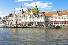 Stock Photo of city scenic from amsterdam in the netherlands