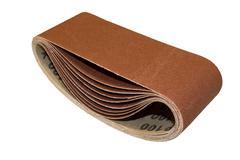 Stock Photo of abrasive cloth strip set