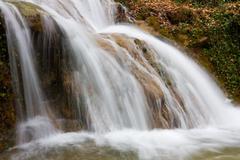 Nice cascade of watrefall Stock Photos