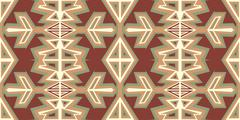 Ancient Angles Pattern Stock Illustration