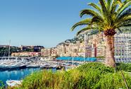 Stock Photo of port hercules. principality of monaco