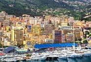 Stock Photo of principality of monaco harbor