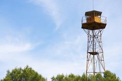 Watch tower Stock Photos