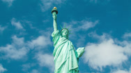 Stock Video Footage of Statue of Liberty - Medium