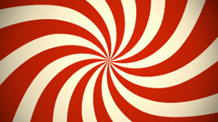 Retro Pinwheel Red Stock Footage