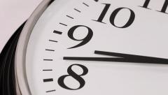 Clock Face Time Lapse - stock footage