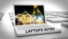 Laptops Intro - stock after effects