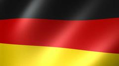 German Flag Background Seamless Loop Stock Footage
