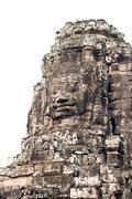 bodhisattva face - stock photo