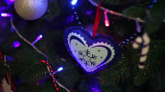 Christmas Background 10 Stock Footage