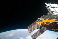 Space wings NASA 4k Stock Footage