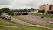 Stock Video Footage of Interstate 44 time lapse STL