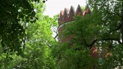 Admiralty. Pushkin. Catherine Park. Tsarskoye Selo. 4K. Stock Footage
