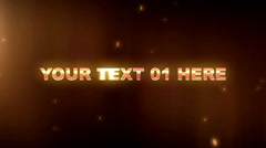 Text Trailer 2 - stock after effects