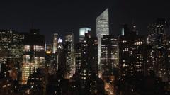 *4K* New York City Skyline Timelapse - stock footage