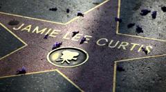 Star Jamie Lee Curtis 01 HD - stock footage
