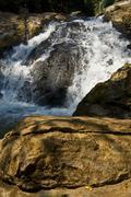 Mae Sa Waterfall - stock photo