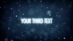 Text Trailer Stock After Effects