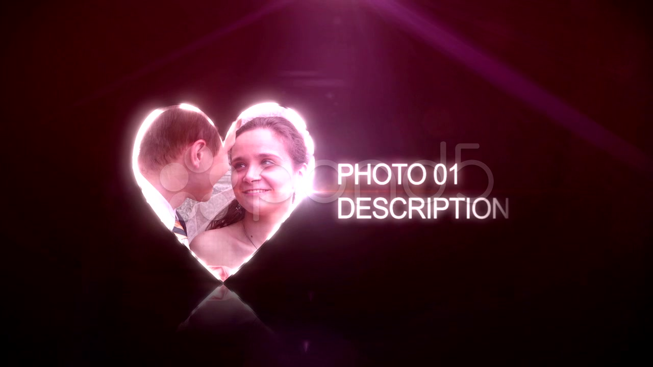 After Effects Project - Pond5 Wedding Hearts 39384369